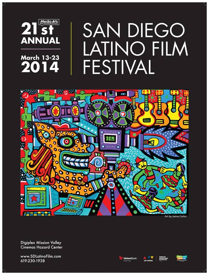 Latino Film Fest Poster Jaime Carbo